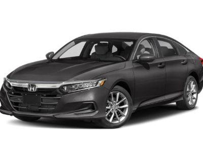 New 2021 Honda Accord Sedan LX FWD Sedan
