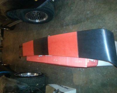 1982-1992 Pontiac Firebird Formula Gta Trans/am Crossfire Rear Spoiler Oem Gm