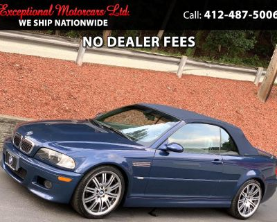 Used 2005 BMW 3 Series M3 2dr Convertible
