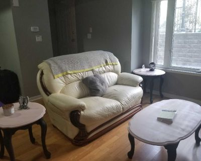 Refurbished Coffee Table & End Tables