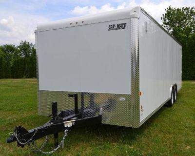 2022 Car Mate Trailers 8.5X24 Custom Car Hauler 10K Trailer - Cargo Harrisburg, PA