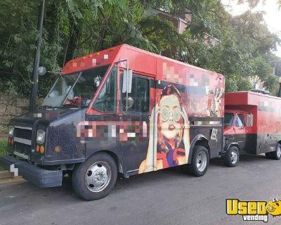Turnkey Mobile Food Business / 18' GMC P35000 Diesel Food Truck