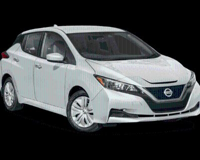 New 2022 Nissan Leaf S FWD Electric Car