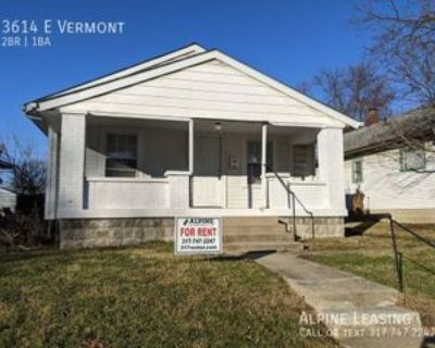 3614 E Vermont St, Indianapolis, IN 46201 2 Bedroom House