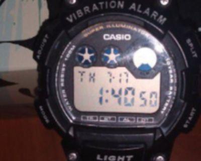 CASIO VIBRATION ALARM SPORTS WATCH
