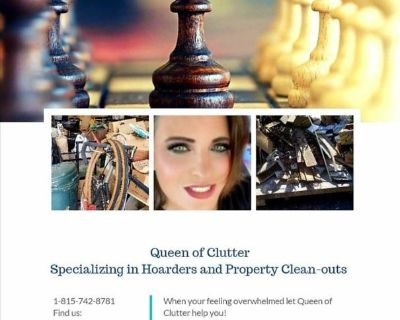 Queen of Clutter- Specializes in Hoarders & Property Clean-outs