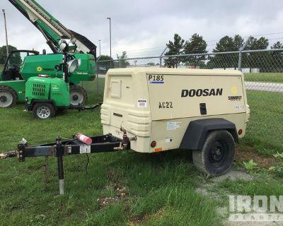 2013 (unverified) Doosan P185WJD-T4I Air Compressor