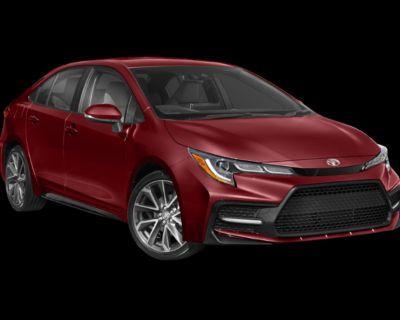 New 2022 Toyota Corolla SE FWD