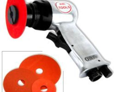 "5"" High Speed Air Sander Auto Shop Sanding Tools Automotive Compressor Tool"