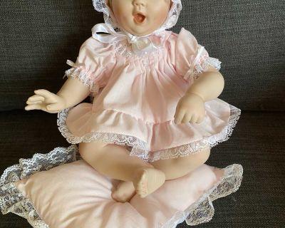 Tender Love Porcelain Doll by Ashton Drake