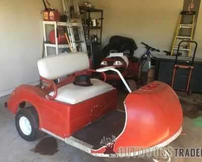 FS Vintage Pargo 3 wheel golf cart