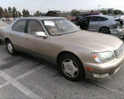 Salvage Gold 1998 Lexus Ls 400 Luxury Sdn