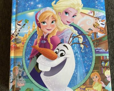 Frozen: First Look-And-Find