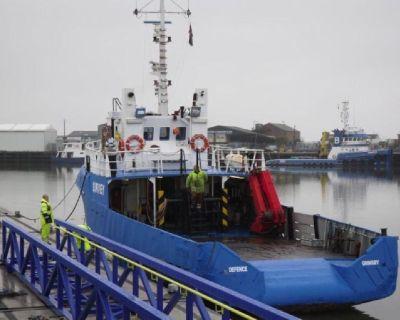 Crew Transfer Vessel for Hire - Work Boat Hire