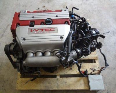 Jdm Honda Accord Acura Tsx Cl9 Cl7 K20a Euro-r Engine Lsd Transmission Axles Ecu