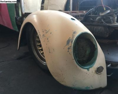 Right front turkis fender