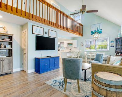 Wonderful House Near the Beach W/free Wifi, Patio, Balconies, Central AC, & W/D - North Ocean City