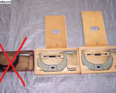 micrometers, 100-125mm, 125-150mm, USA made