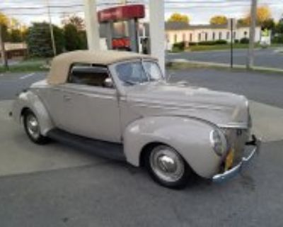 Featured 1939 Ford DeLuxe Convertible