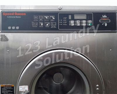 Speed Queen Commercial Front Load Washer Card Reader 27LB 1PH SC27NR2YN40001