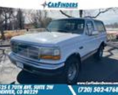 1996 Ford Bronco Eddie Bauer for sale