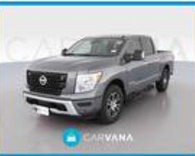 2021 Nissan Titan Gray, 2838 miles