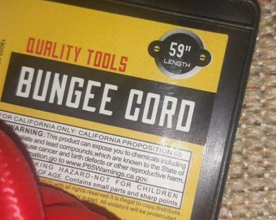 """NEW. 2X. 59"""" bungee cords"""