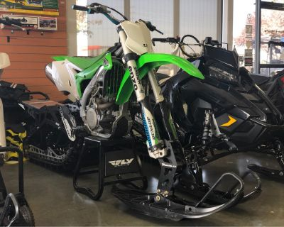 2017 Kawasaki KX450X W/ 2019 TIMBER SLED ARO 120 Snow Bikes Elk Grove, CA