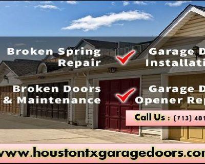 24/7 Emergency Garage Door Repair($25.95) Houston, 77008 Texas