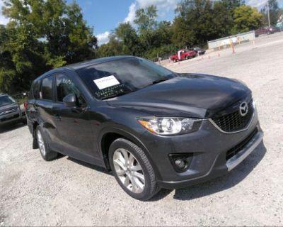 Salvage Gray 2014 Mazda Cx-5