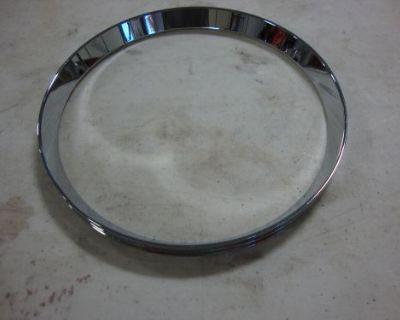 Big Dog Chrome Hooded Headlight Bezel Beauty Ring K-9 Mastiff Chopper Ridgeback