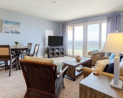 Gulf Front Condo w/ Stunning Views, Shared Pool, Gym, & Easy Beach Access! - Panama City Beach