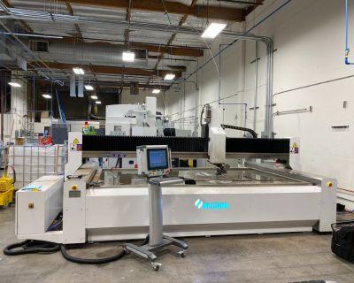 CNC Waterjet Cutting Machine Accurl USA MAX WJ P50S L3015