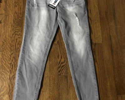 Brand new with tags stone washed gray jeans size 4/27