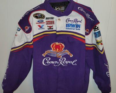 "FS/FT NASCAR ""NEW, Unworn"" Crown Royal NASCAR Jacket Men's XL $40"