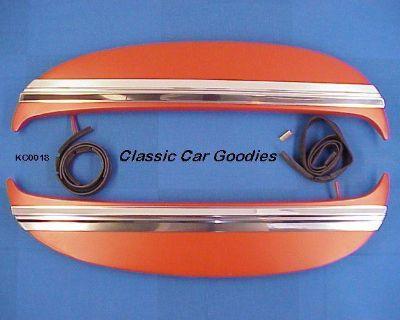 1967 Chevy Impala Fender Skirts Kit. Metal. New!