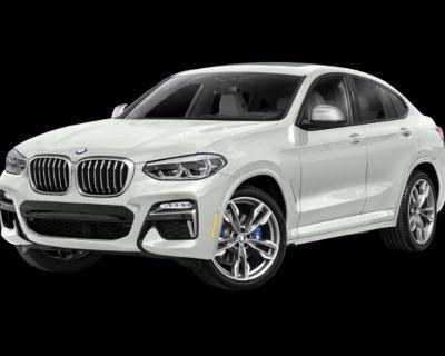 New 2021 BMW X4 M40i All Wheel Drive SUV