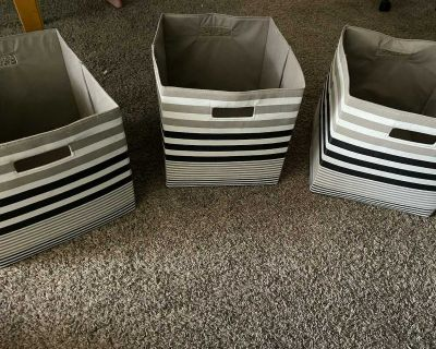 Collapsible Fabric Storage Cubes Organizers