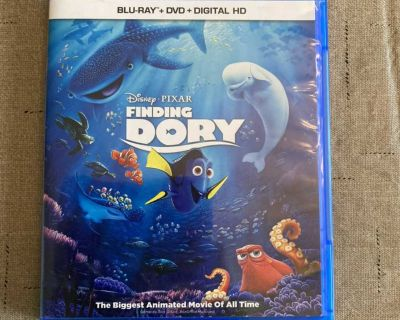 Finding Dory Blu-Ray Disney Pixar