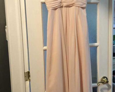 Pink bridesmaid / prom dress size 4