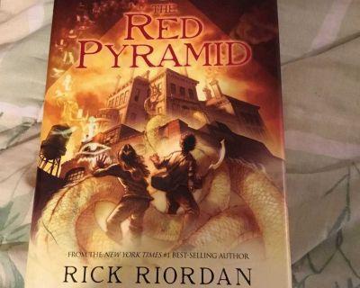 The Red Pyramid by Rick Riordan Hardcover