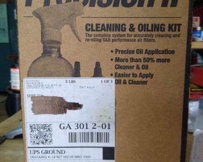 FS/FT S&B Filters 88-0008 Precision II Cleaning and Oiling kit (red oil)