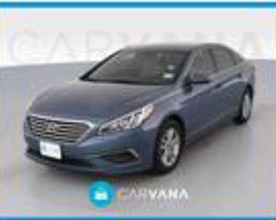 2016 Hyundai Sonata Blue, 74K miles