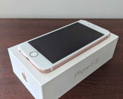 Iphone 6s Rose Pink New