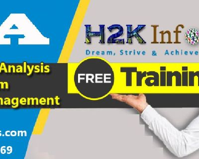 BA Online Training on Live-Projects by H2K Infosys.