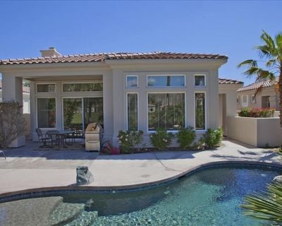 3b/3.5b, Golf/Mtn Views, Pool Spa, Fire Pit, Bbq, Golf cart, Relax in the Sun! - La Quinta