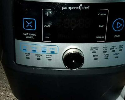 Pampered chef pressopn pads want 60 for both