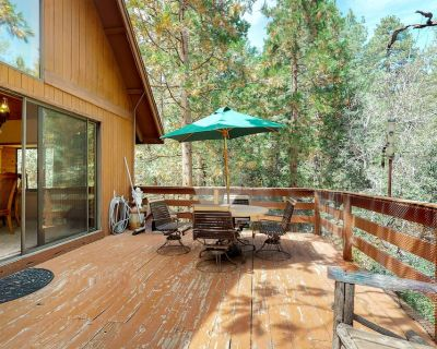 Secluded cabin w/large deck & wood stove in peaceful forest setting - Idyllwild