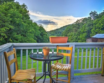 NEW! Secluded Marshall Home on 1 Acre + Mtn Views! - Marshall