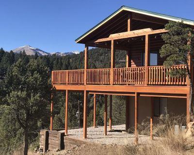 Great Sierra Blanca View,7300Ft, Large Deck,Hot Tub, Wifi, 2 Car Garage,near Ski - Ruidoso
